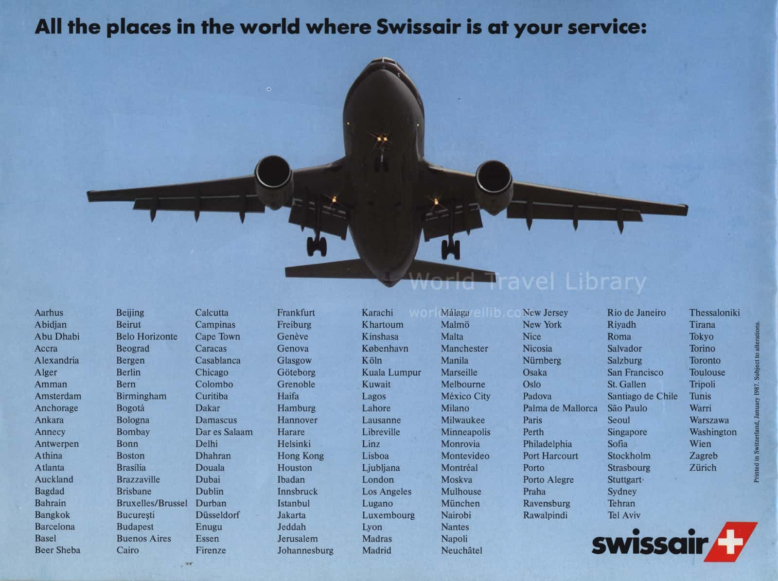 Pin By Bruce Biggs On Swissair National Airlines World Traveler Fighter Jets