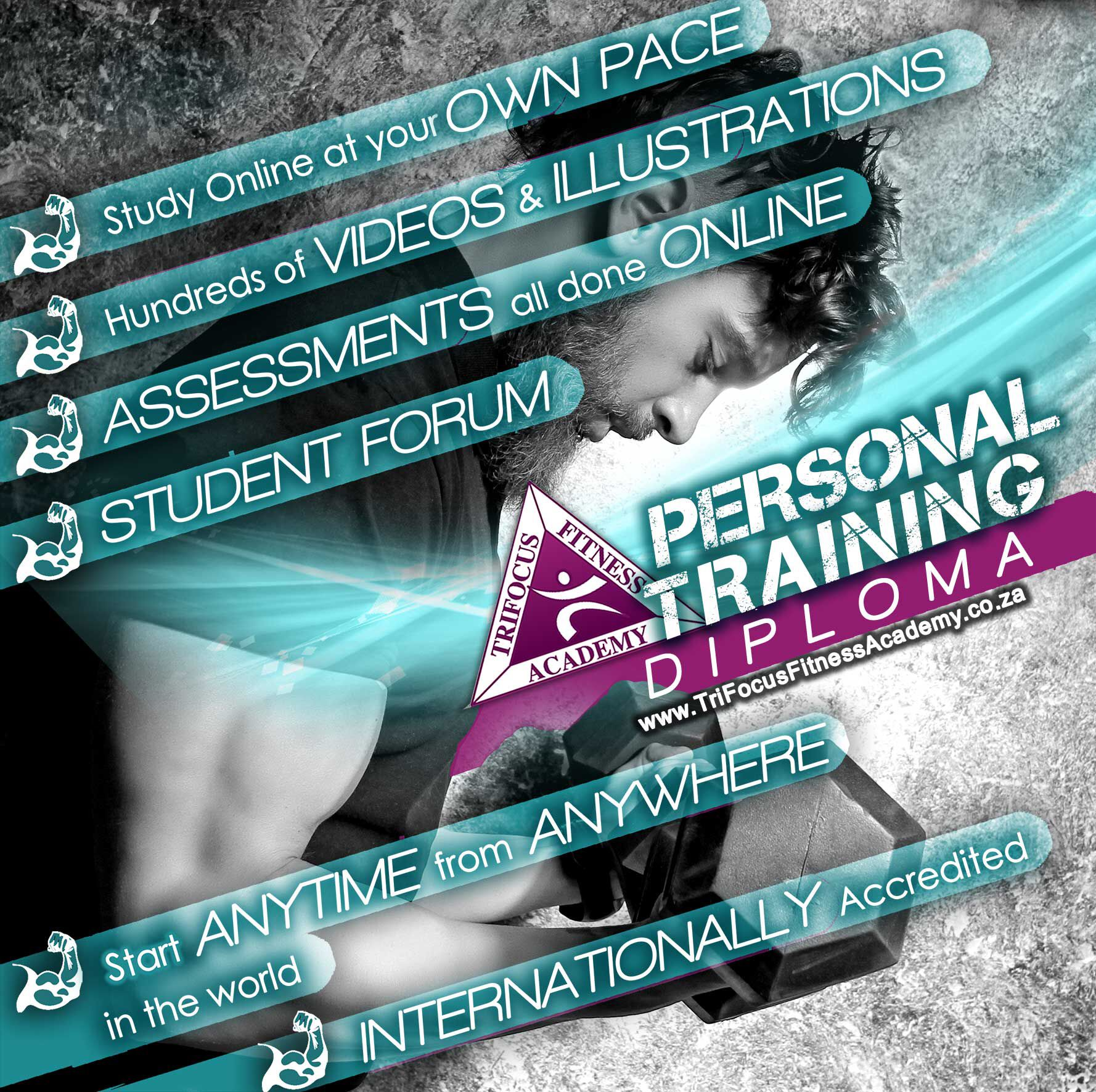 Personal training diploma online advanced the national diploma fitness courses xflitez Image collections