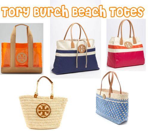 Tory Burch Beach Totes
