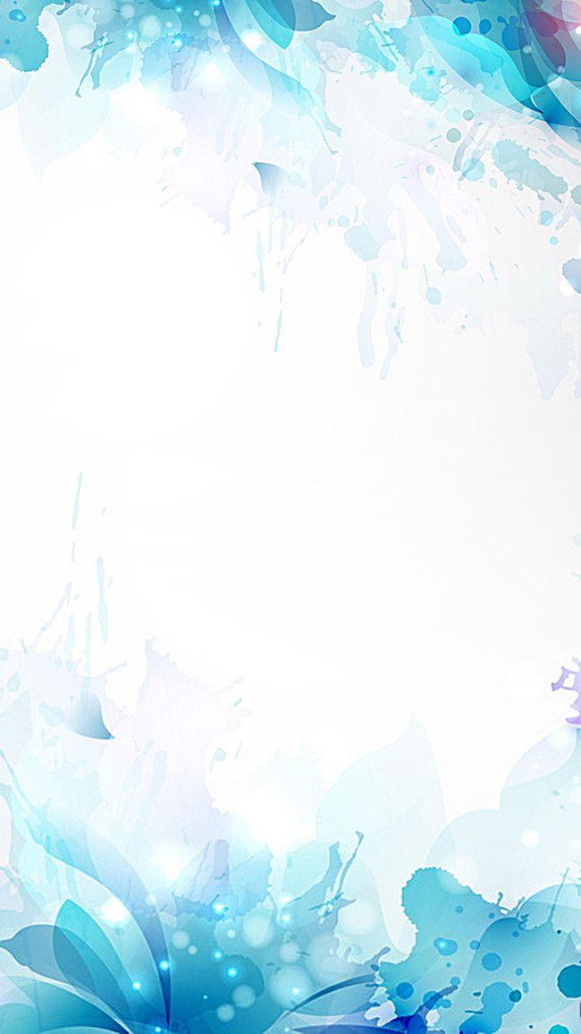 H5 Blue Gradient Background