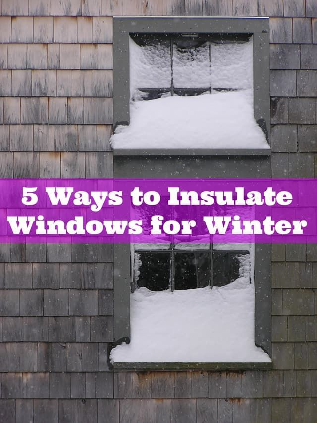 Here is a guide to solutions for insulating drafty winter windows including the pros and cons of everything from rubber sealing to shrink-wrap film.