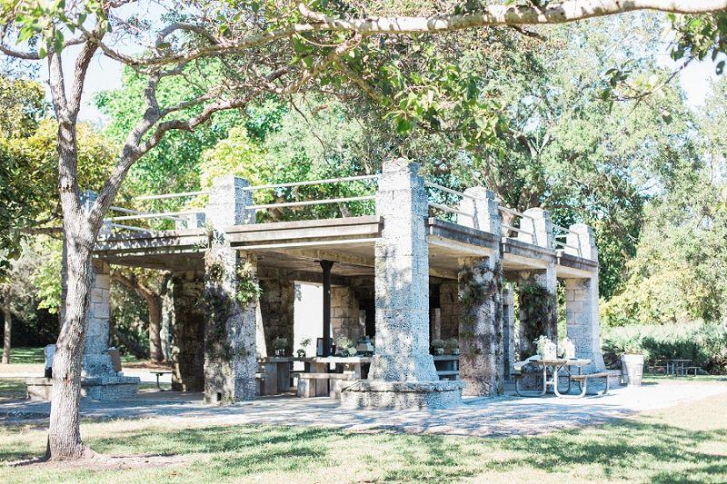 Matheson Hammock Park Miami Fl Stone Pavilion