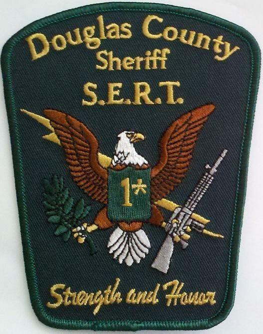 Douglas County GA Sheriff Emergency Response Team SERT SWAT patch