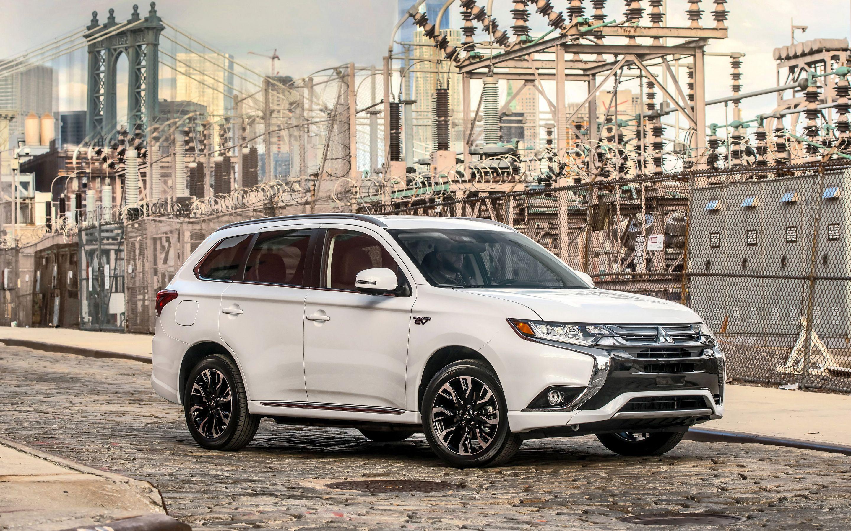 Mitsubishi Outlander PHEV, 2018 cars, crossovers road