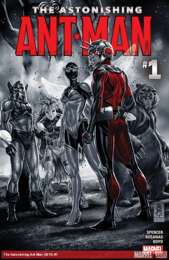 The Astonishing Ant-Man #1- This is one of those titles that continue straight on from the last series regardless of the title being renumbered. It's just as fun, just as sad and ultimately the story of a once avenger trying to outrun his loosing streak. Thumbs Up - Monts