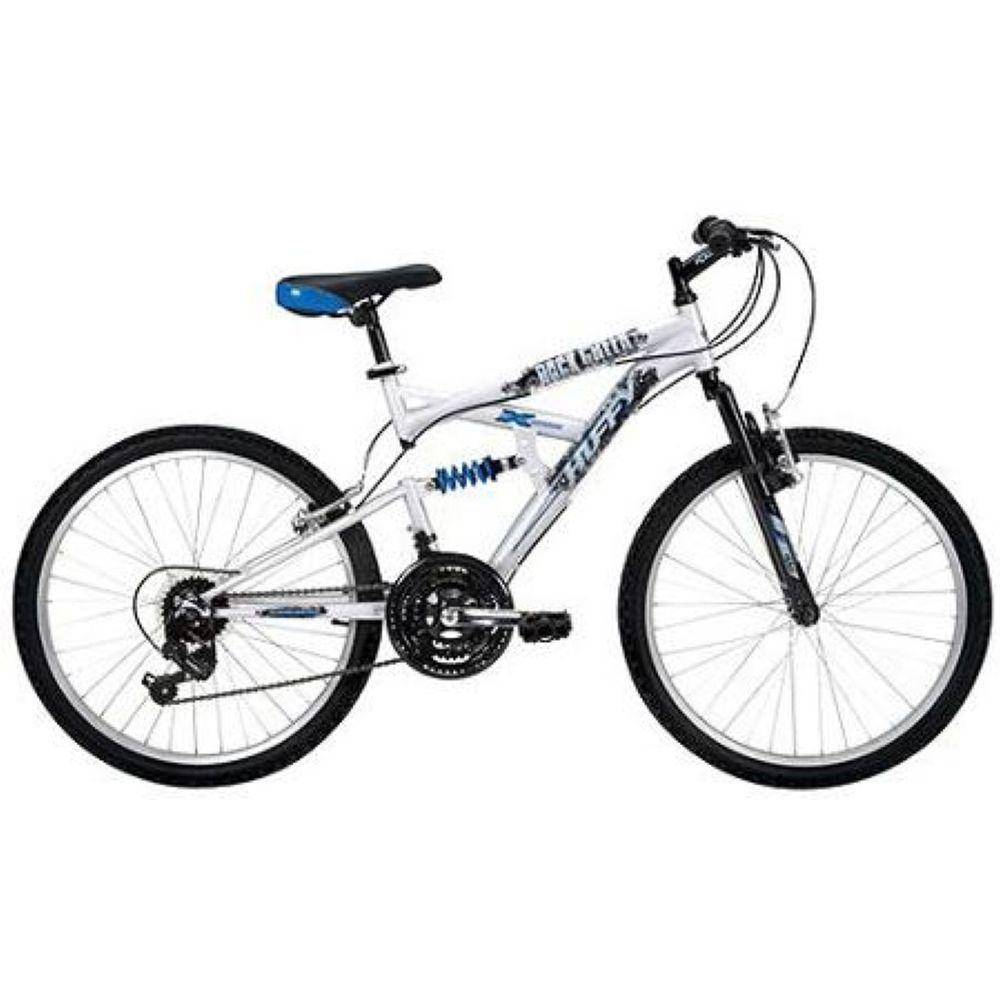 Huffy 24 Dual Suspension Mountain Bike Steel 120mm Stem Shimano