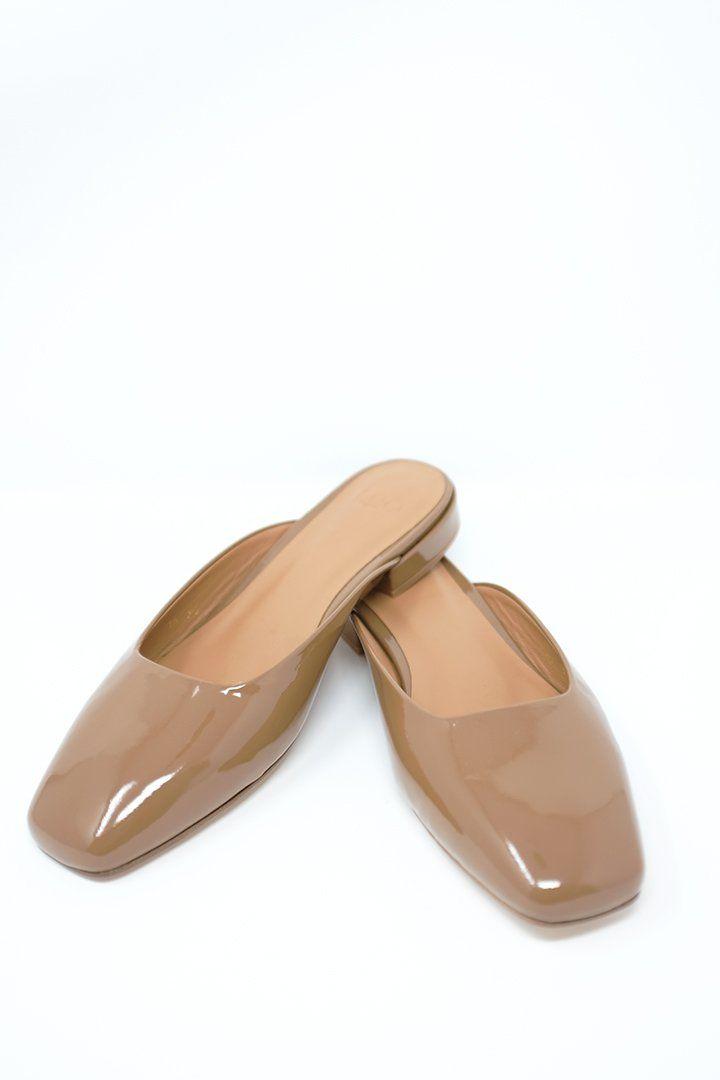 97cc1cbe0f0 Lucia Slide in Patent Cream by LoQ