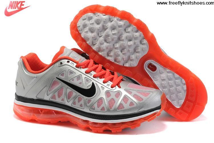 best service 32e81 445a6 Wholesale Discount Womens Nike Air Max 2011 Metallic Silver Black-Solar  Red-Pro Platinum