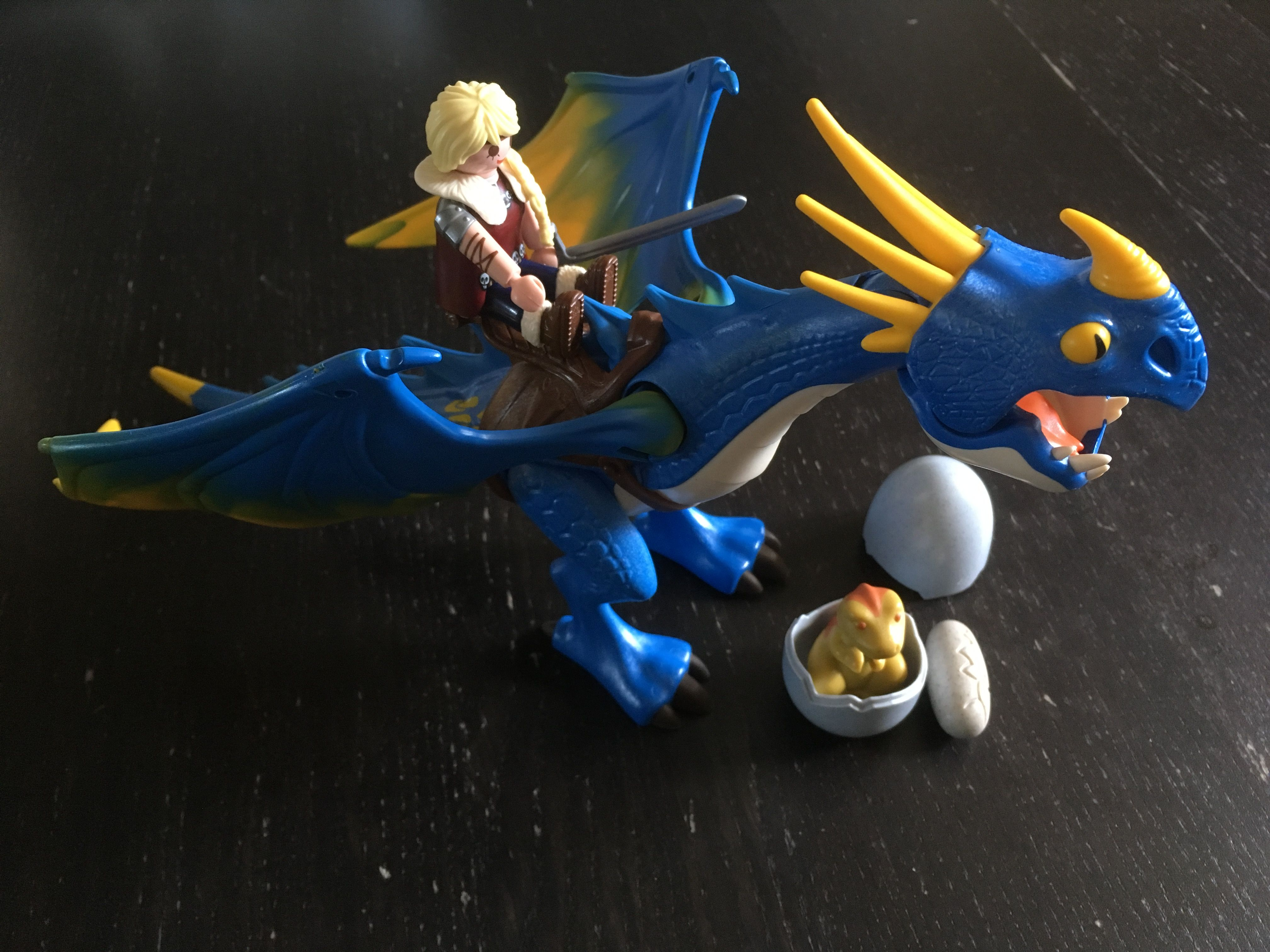 Hoquet Bébé 3 Astrid Dragon Et Dragons Playmobil Avec rdChQts