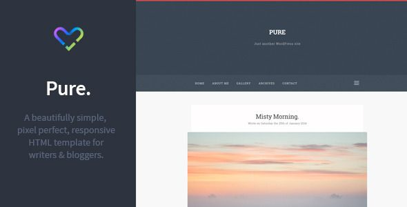 Deals Pure - Responsive Blogging HTML Template.In our offer link above you will see