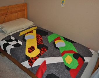 Motorcycle Quilt pattern with Multiple sizes: by CountedQuilts ... : motorcycle quilt pattern - Adamdwight.com