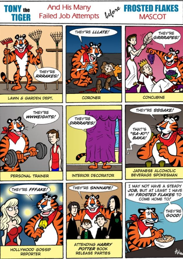 Tony The Tiger Meme Im Great