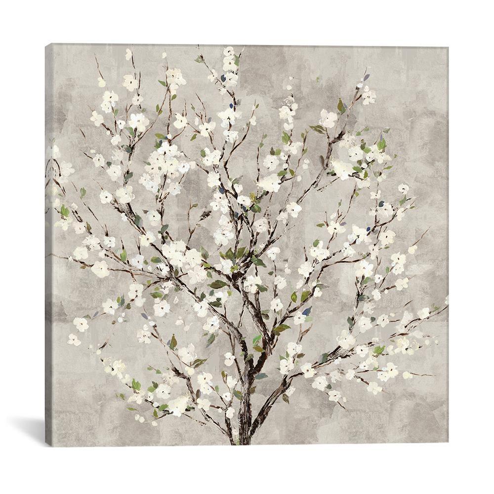 Hi Line Gift 4 Ft Led Cherry Blossom Tree 39048 Wt The Home Depot Cherry Blossom Tree Blossom Trees Fairy Lights In Trees