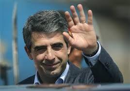 President of Bulgaria, Rosen Plevneliev, age 49.