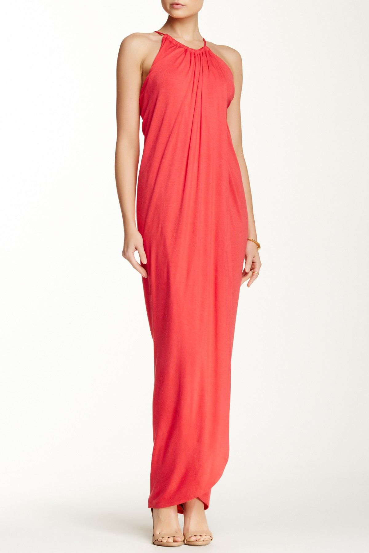 Solid Maxi Dress by S.H.E. on @HauteLook