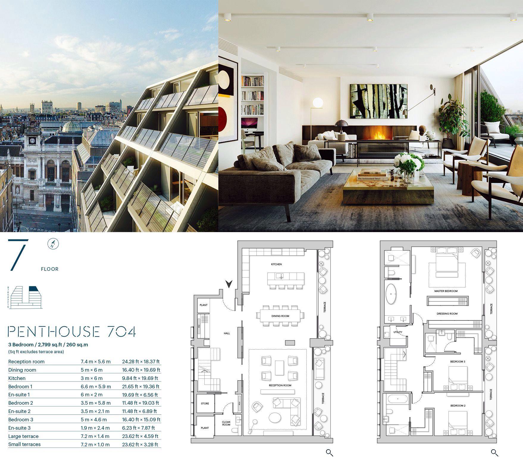 Burlington Gate Mayfair : Luxury Penthouses London