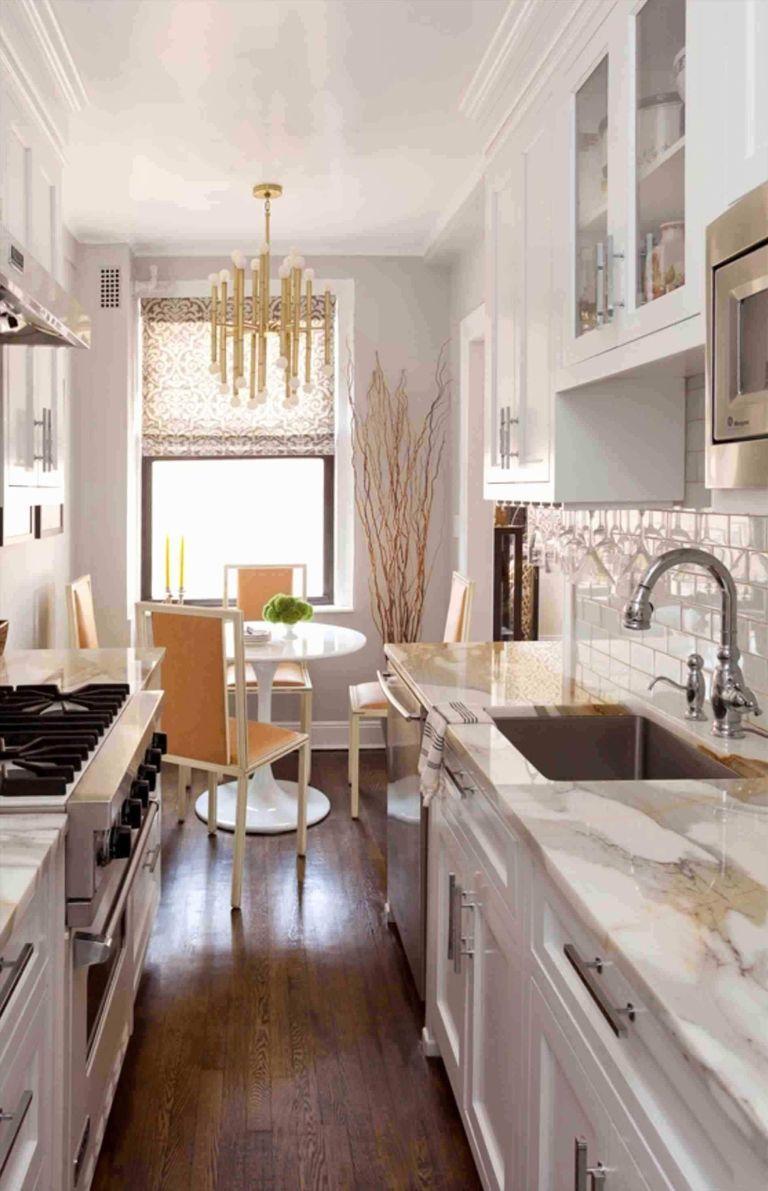 Tiny Galley Kitchen Designs Russia 2 #whitegalleykitchens