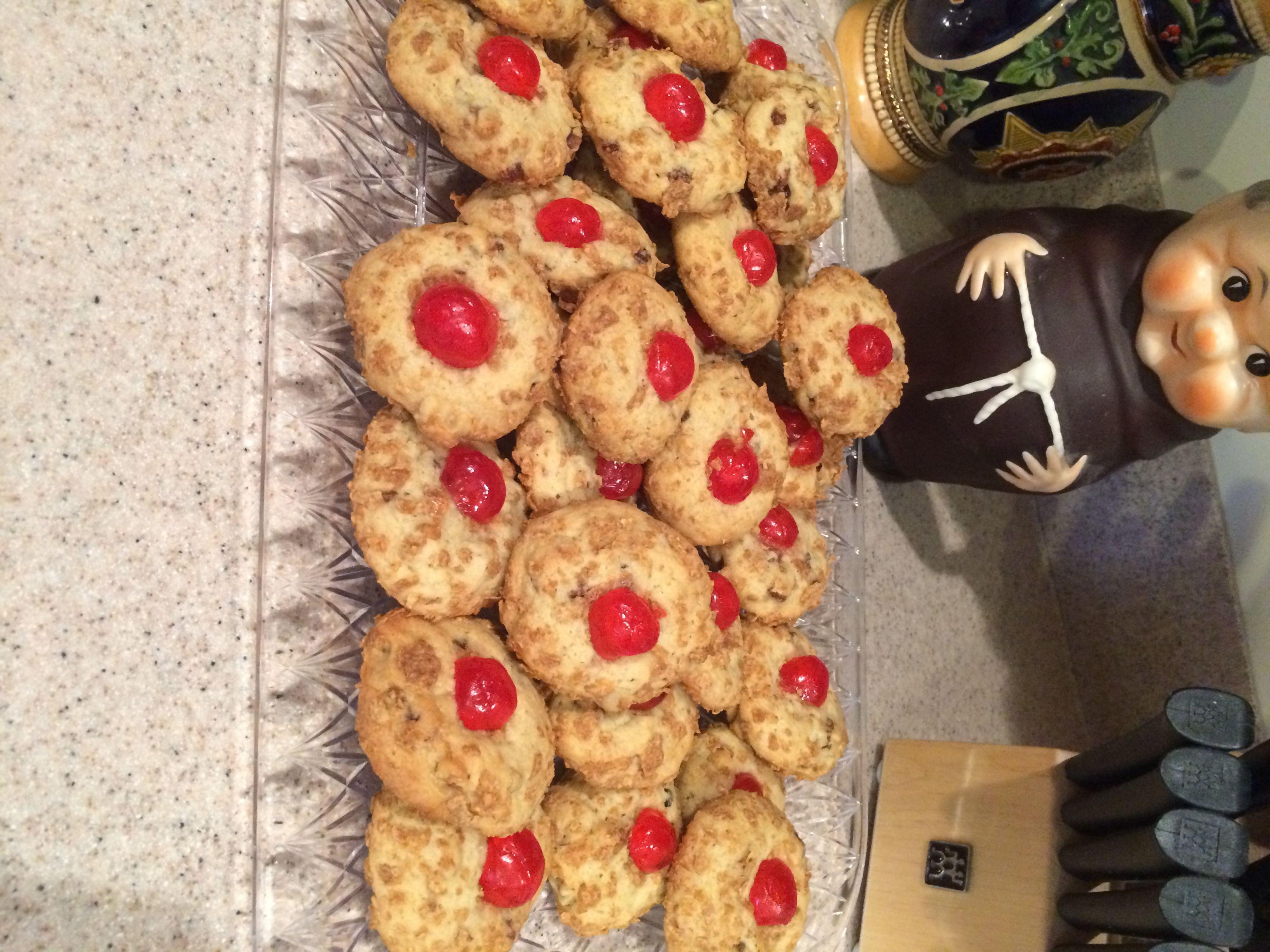 Cherry Blinks | Cherries, Pillsbury and Christmas cookies
