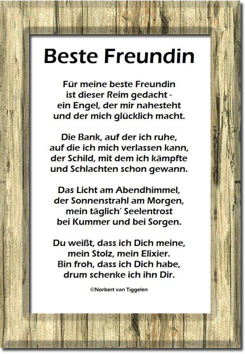 Für Meine Beste Freundin Karin Gedichte Gedichte Und
