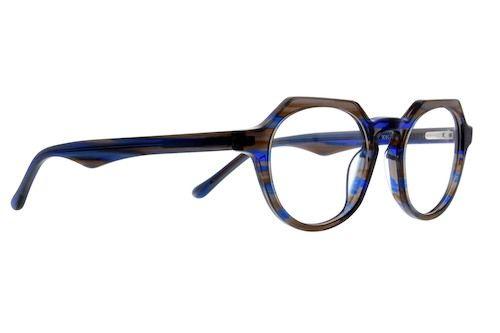 dff6864234e Zenni Geometric Prescription Eyeglasses Pattern Tortoiseshell ...