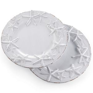 Beach Cottages · Starfish Embossed Dinnerware Sc 1 St Pinterest  sc 1 st  pezcame.com & Beach Dinnerware \u0026 ... Crafted By Wainwright Lenox-Wainwright Boho ...