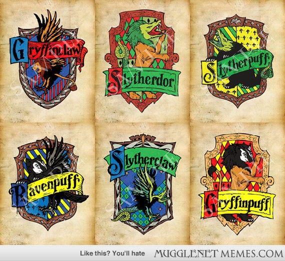 Which Hogwarts How Do You Belong To: Hogwarts Combined Houses; Which One Are You?