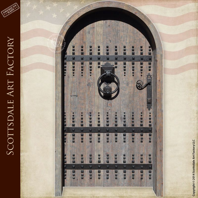 Custom Wooden Doors | Castle Doors | Old World Front Entry Custom ...