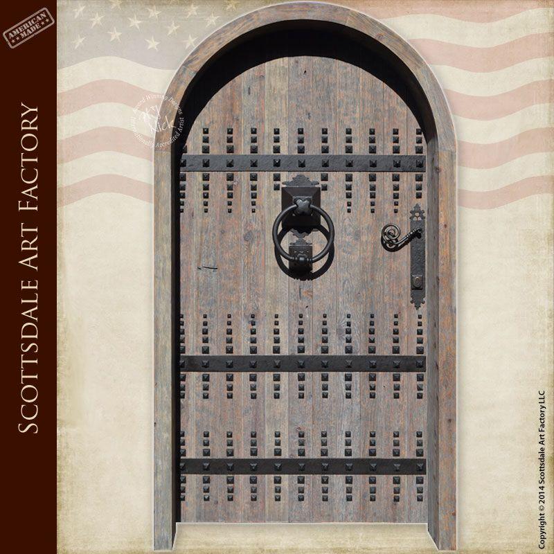 Custom Wooden Doors | Castle Doors | Old World Front Entry | home ...
