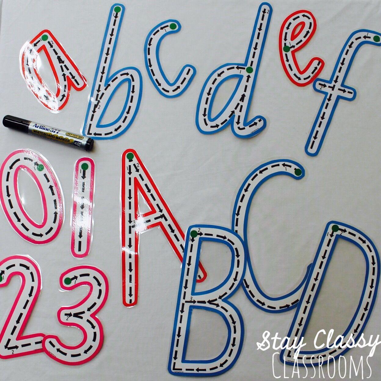Queensland Write Wipe Alphabet And Numbers Set Print Pre Cursive Bundle Pencil Skills Kindergarten Learning Activities Alphabet And Numbers [ 1248 x 1248 Pixel ]