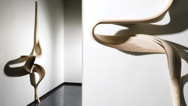Erstaunliche Designer Holzmöbel vereinen Skulptur- und ...