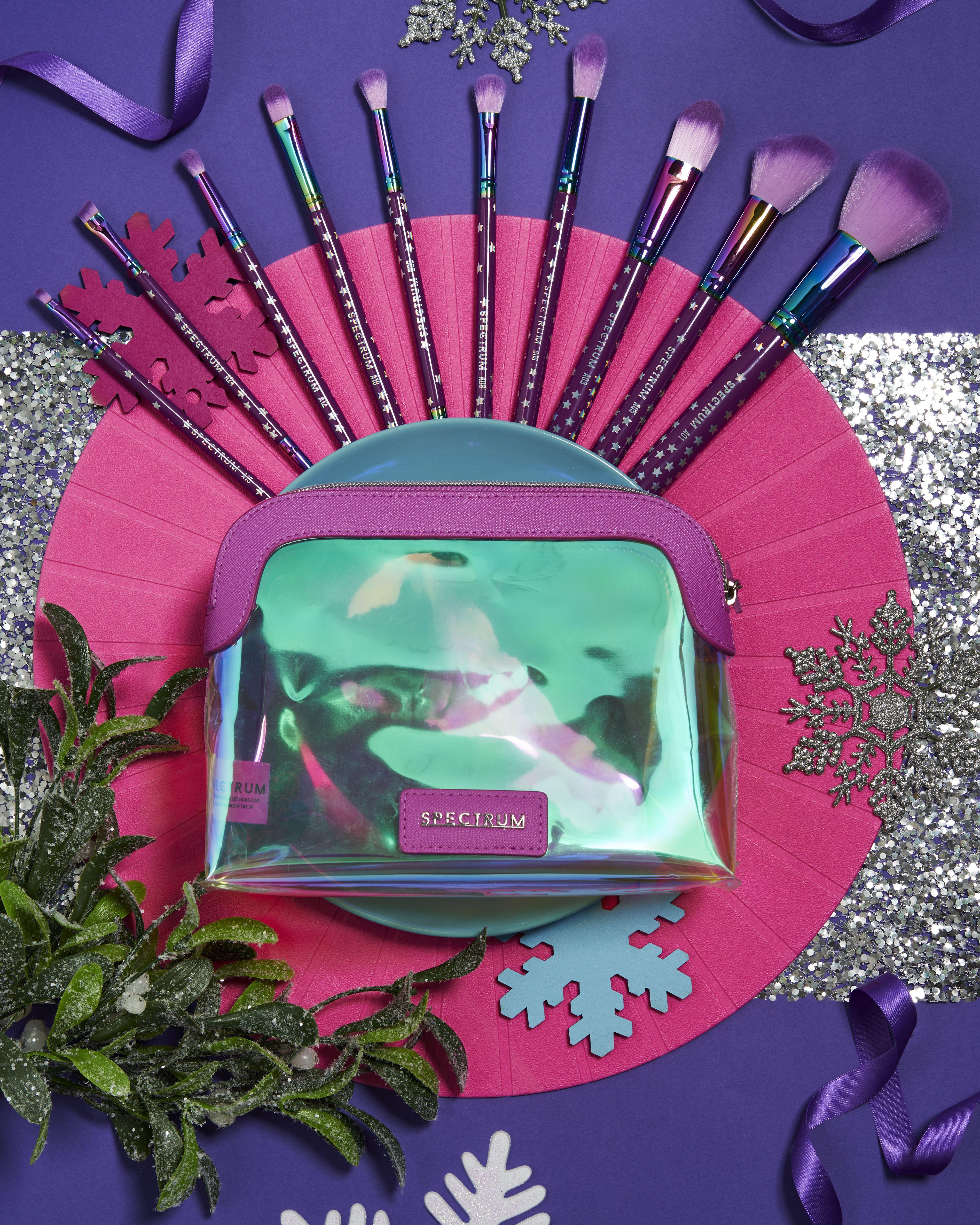 Spectrum Bumper Brush & Bag Set £50 Christmas gift