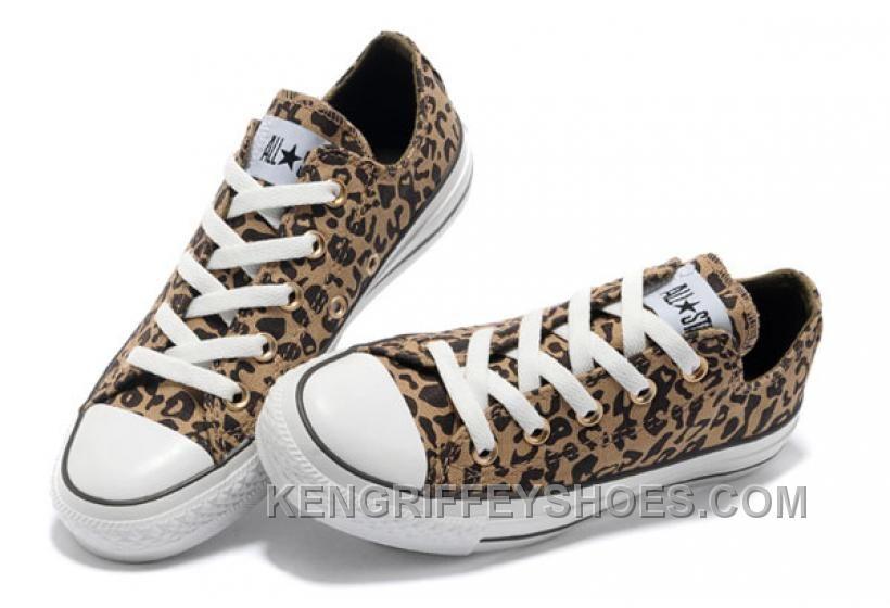 converse all star leopardate