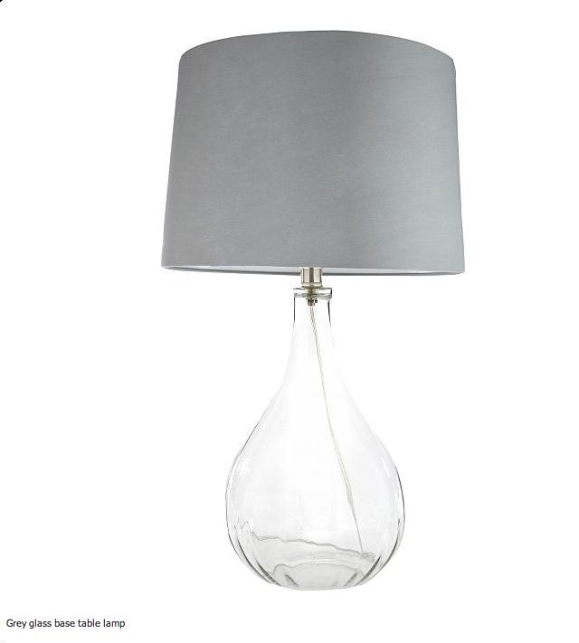 Debenhams grey glass table lamp httpdebenhamswebapp debenhams grey glass table lamp httpdebenhams aloadofball Choice Image