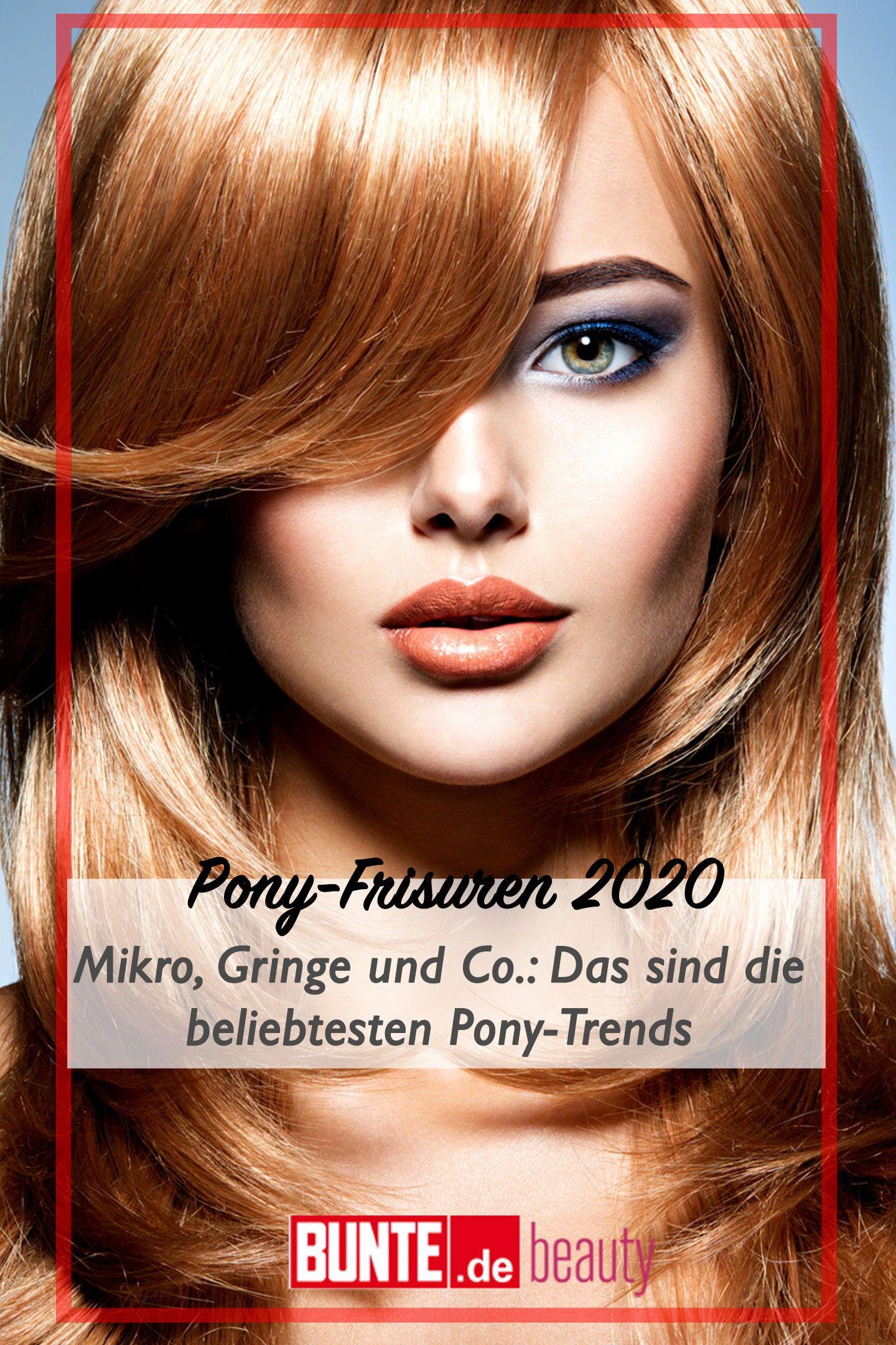 Pony Frisuren Mikro Gringe Und Co Das Sind Die Beliebtesten Pony Trends Fur 2020 In 2020 Frisuren Mit Pony Frisuren Pony