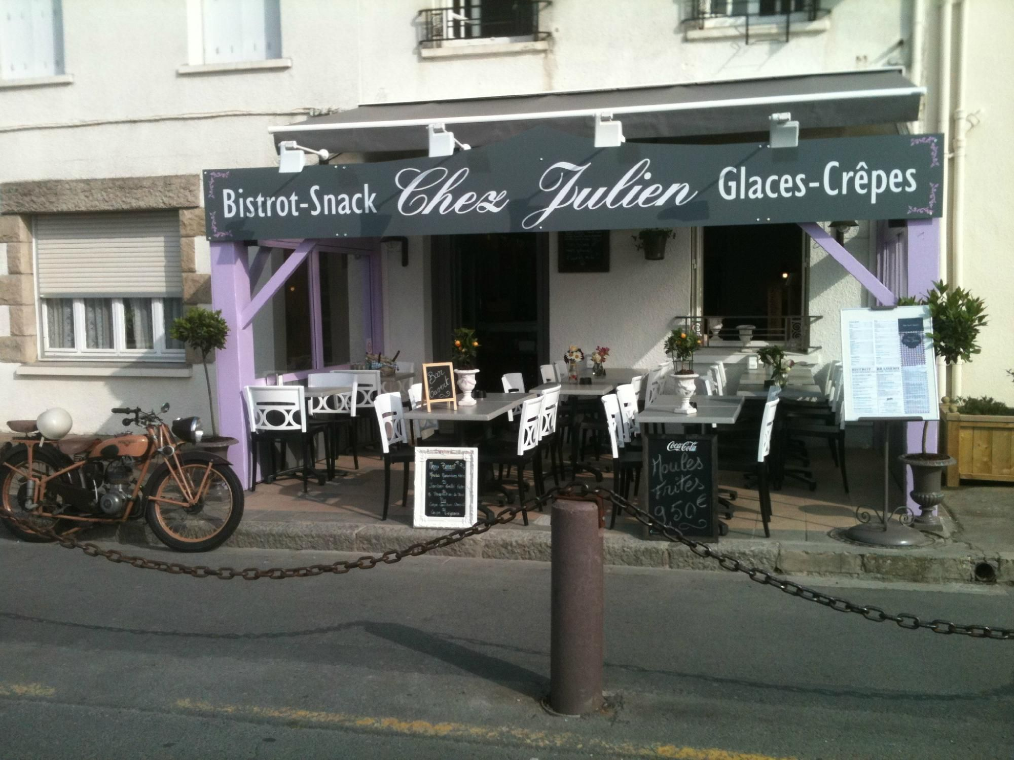 """""""Chez Julien"""", Cancale Restaurant Avis, Numéro de"""