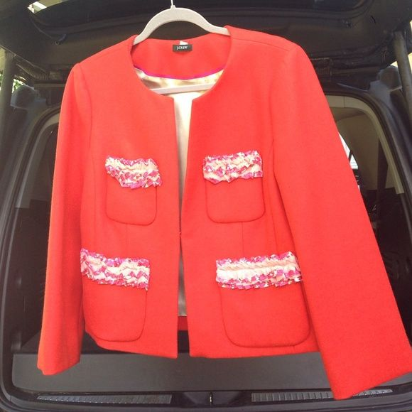 Extra pics J. Crew blazer As if new. No flaws J. Crew Jackets & Coats Blazers