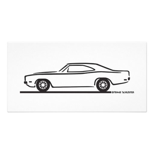 1969 dodge charger card dodge charger photo cards and outlines 1969 dodge charger card pronofoot35fo Choice Image