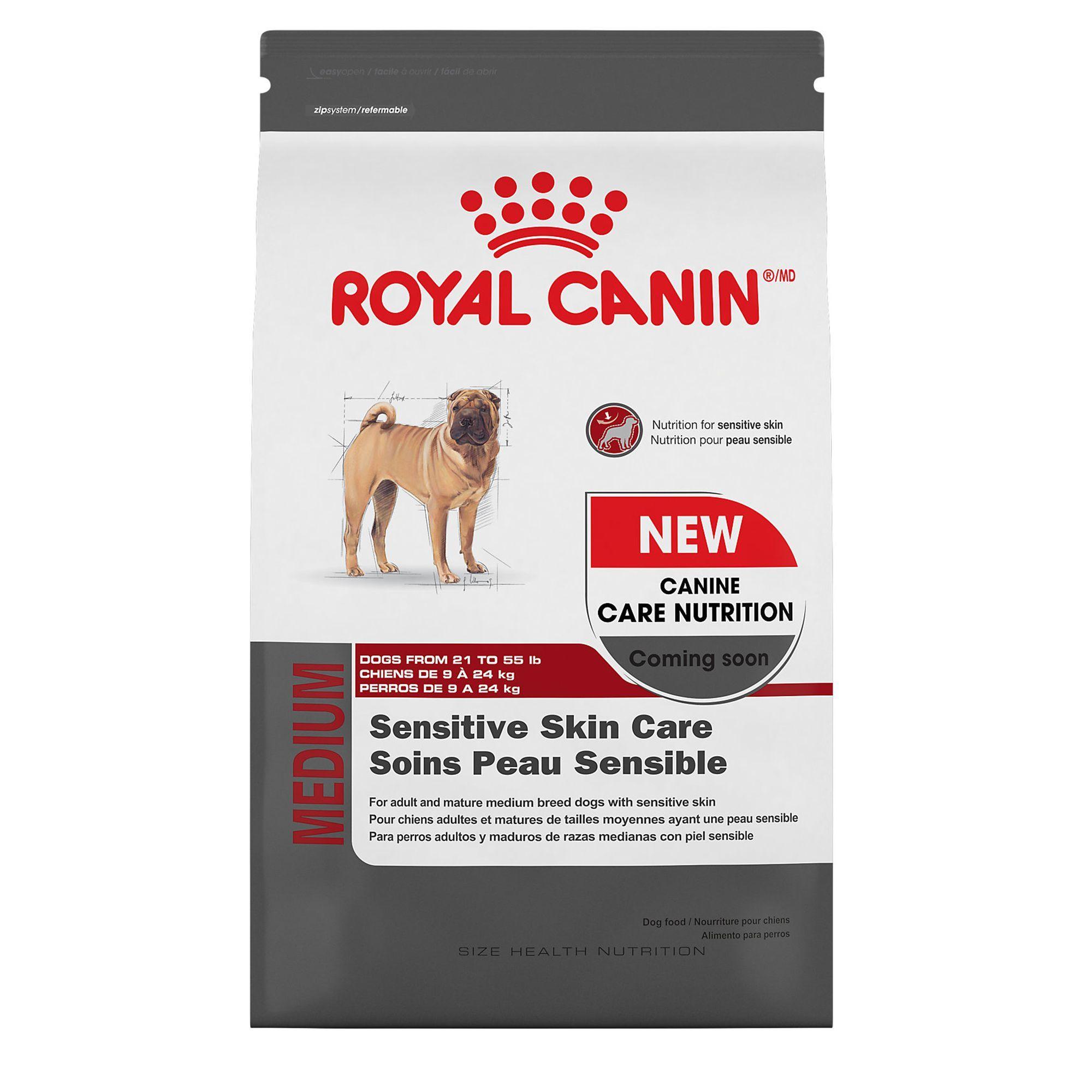 Royal Canin Size Health Nutrition Sensitive Skin Care Medium Dog Food Size Sensitive Skin Care Sensitive Skin Skin Nutrition