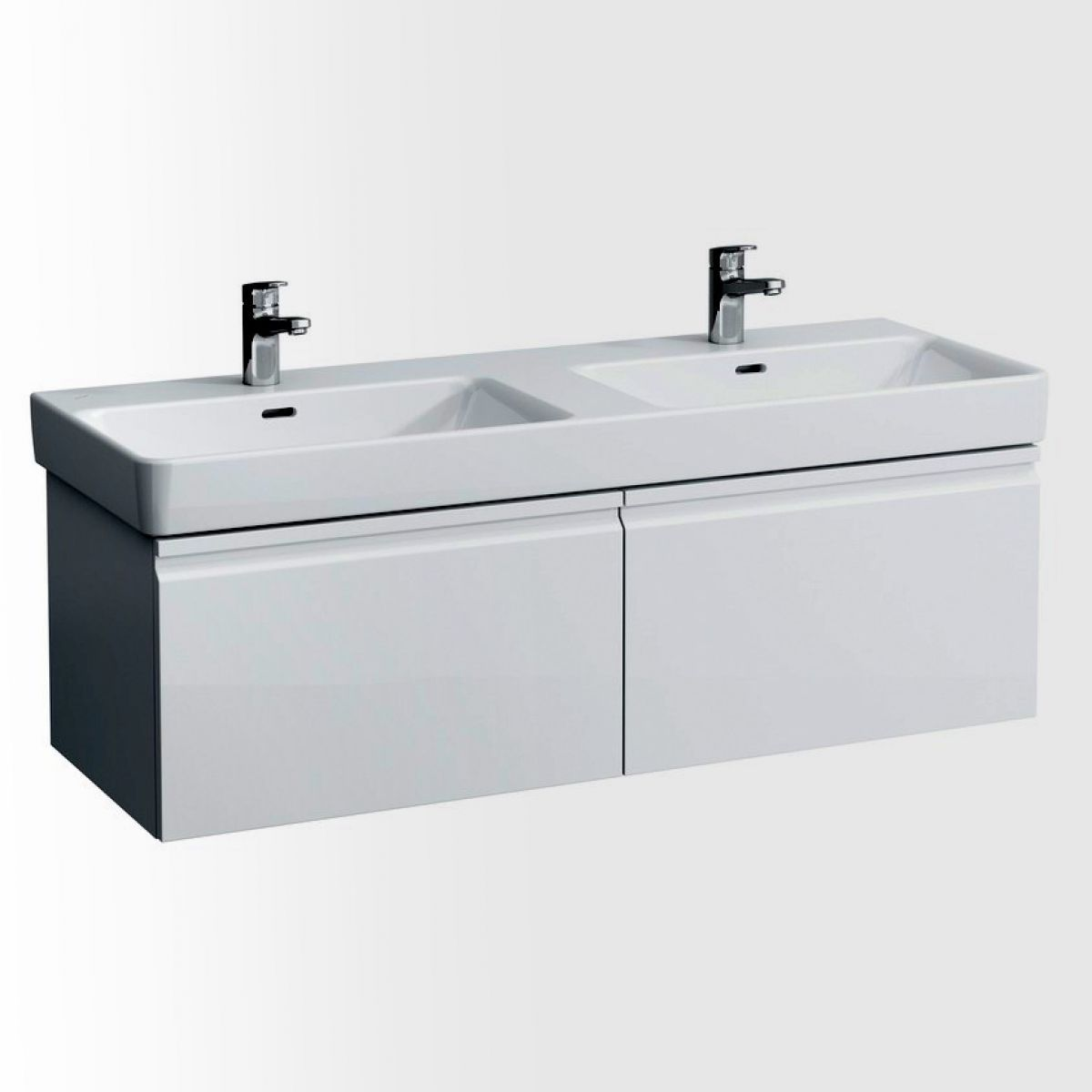 Astonishing Laufen Pro S Double Basin Vanity Unit With 2 Drawers In 2019 Complete Home Design Collection Papxelindsey Bellcom