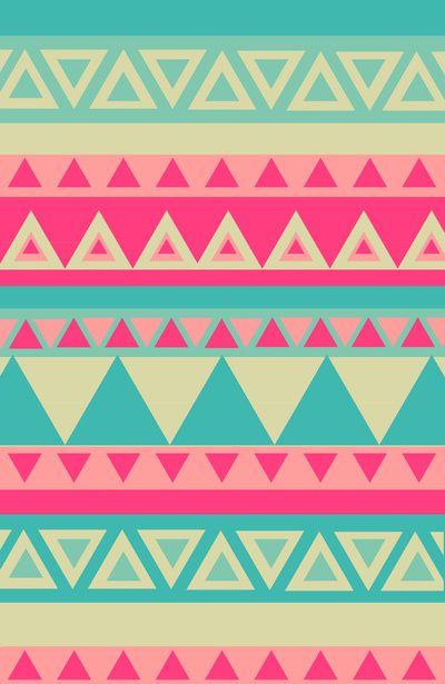 Tribales Colores Pasteles Manicure Inspiration Pinterest
