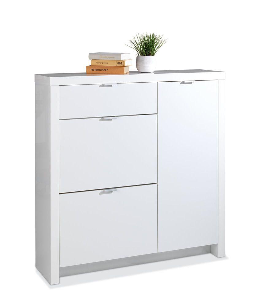 details zu schuhschrank schuhkipper schuhkommode schublade. Black Bedroom Furniture Sets. Home Design Ideas