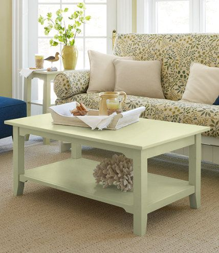 painted cottage coffee table coffee tables at l l bean for the rh pinterest ch
