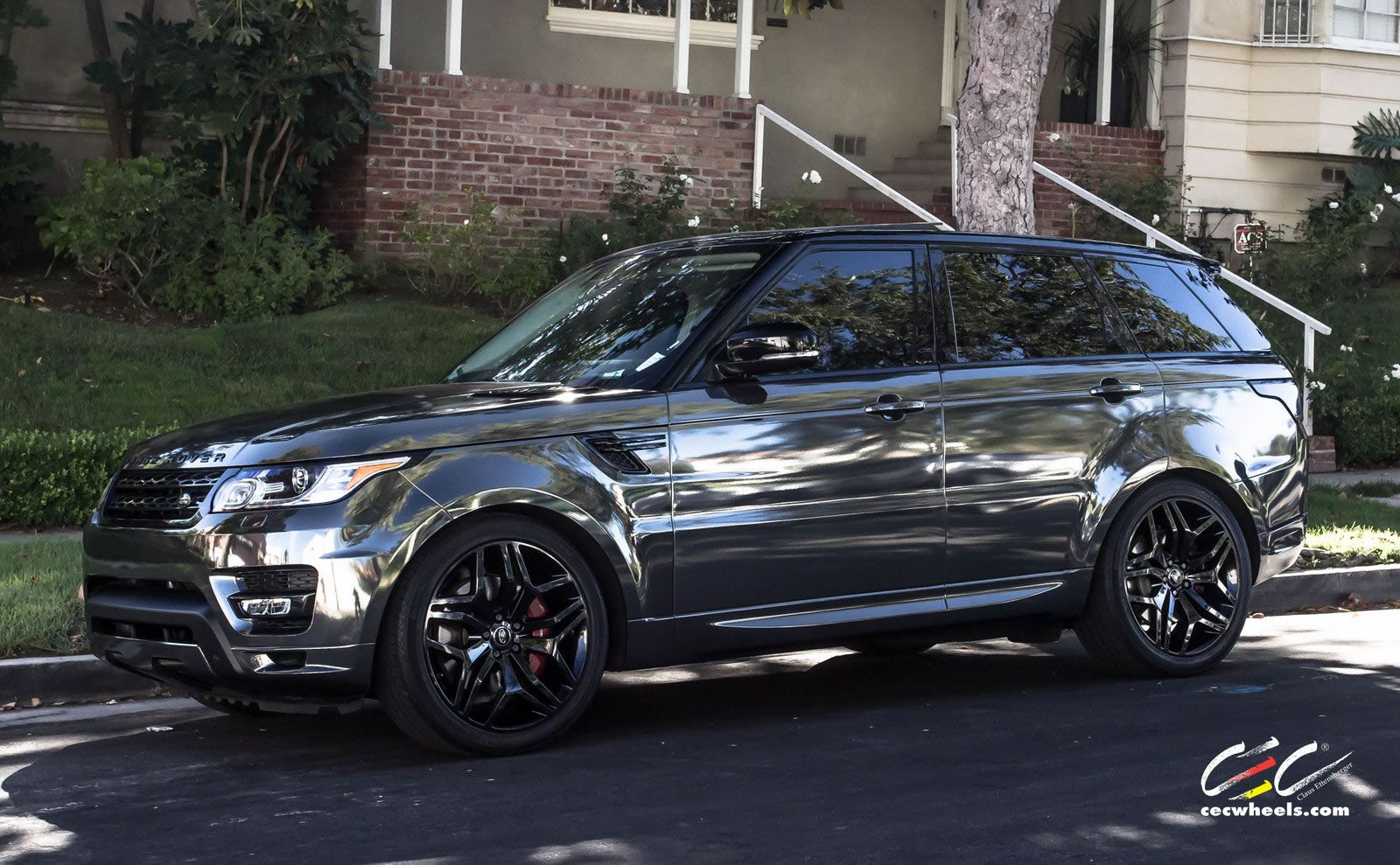 range rover sport featuring black chrome vinyl wrap and blackout package m u s t h a v e. Black Bedroom Furniture Sets. Home Design Ideas
