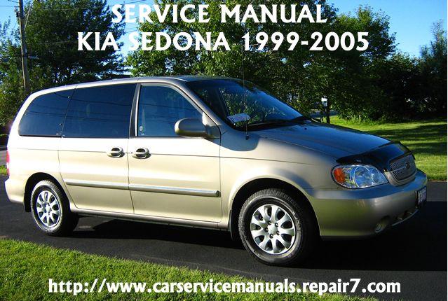 Kia Sedona 1995 1996 1997 1998 1999 2000 Factory Service Manual Kia Sedona Kia Mini Van