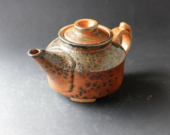 Handmade Pottery Teapot Teapot With Infuser Loose Leaf Etsy Tea Pots Tea Pot Set Stoneware Teapot