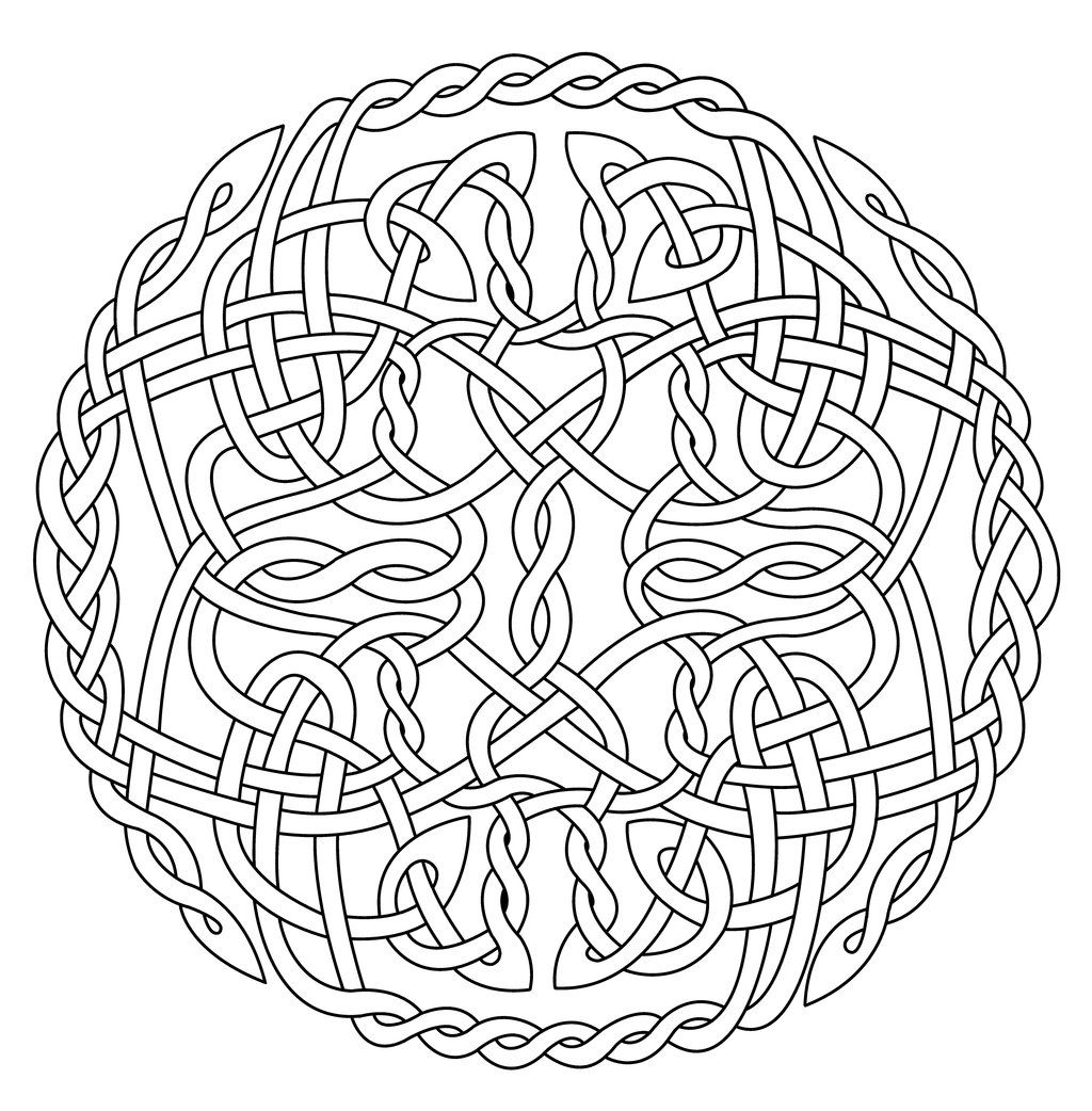 Celtic Knots Are A Classification Of Knots And Stylized Graphical