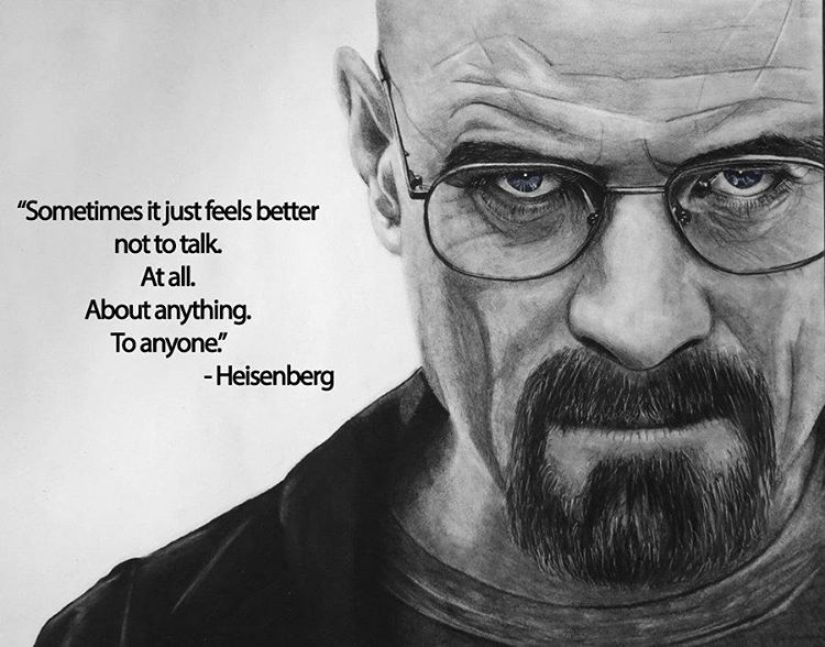 Quote Of The Day #heisenberg #walterwhite #breakingbad