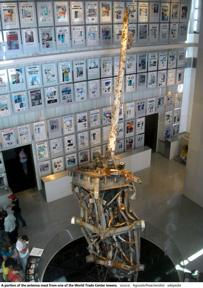 The Newseum in Washington DC in an