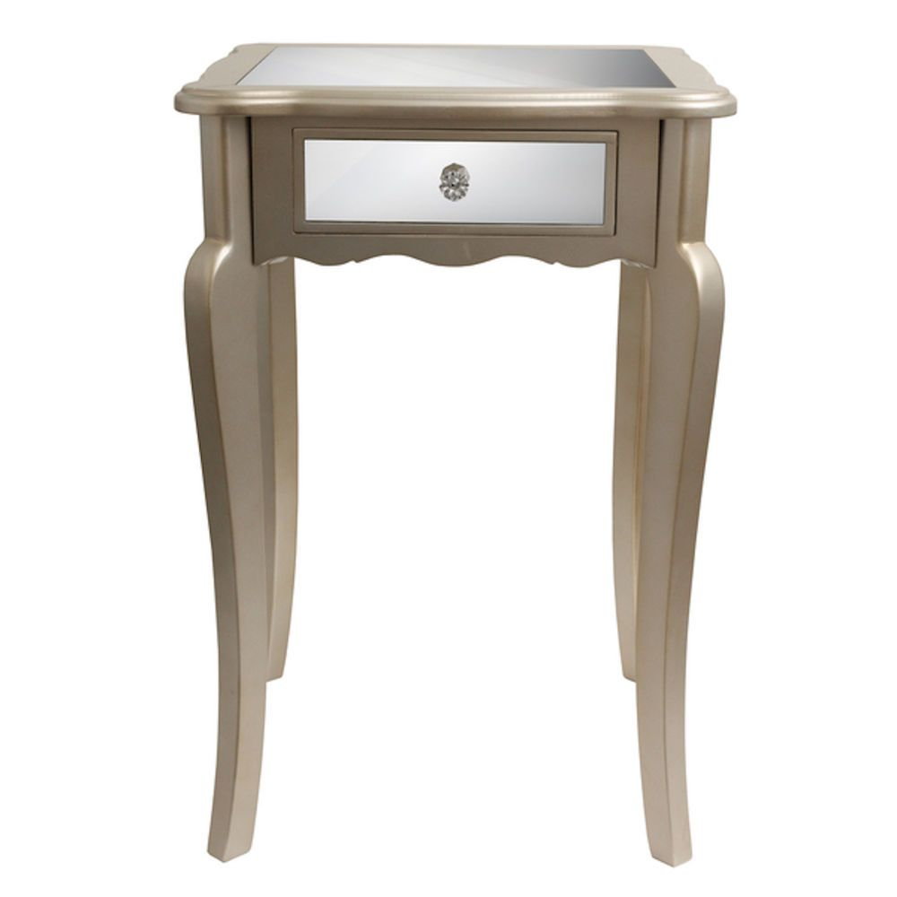 Best Small Accent Tables Mirrored Nightstand End With Storage 400 x 300