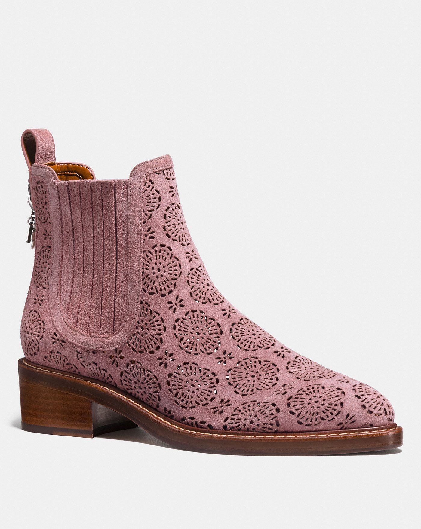 e0024154c5 Bowery chelsea boot with cut out tea rose | Pink Love | Boots ...